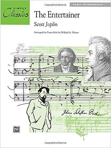 Gratis lydbøger til mp3 til download The Entertainer: Sheet (Simply Classics Solos) in Danish iBook