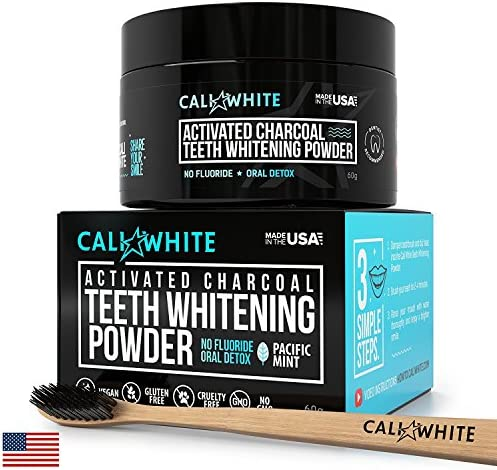 Cali White Activated Toothpaste Toothbrush