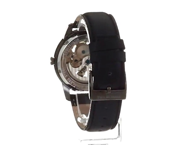 Kenneth Cole New York Men's Quartz Stainless Steel and Leather Automatic Watch ( KC50223002/01)