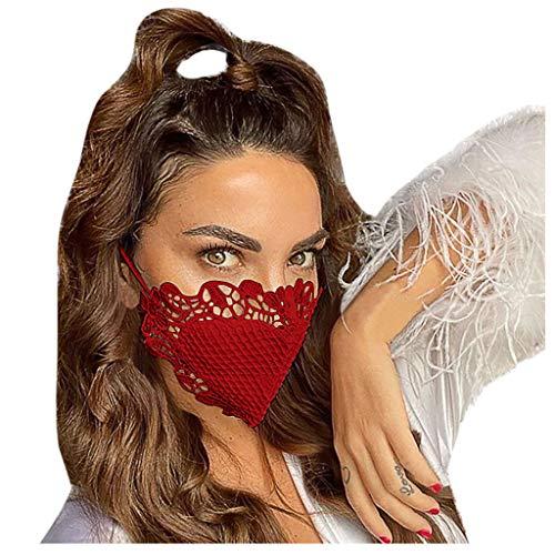 Allegorly 5 Stück Mundschutz waschbar mit Motiv, mundschutz mit Camouflage Atmungsaktive Mundbedeckung Stoff Face Cloth Wiederverwendbare
