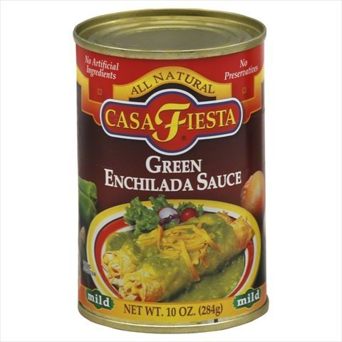 Casa Fiesta Green Enchilada Sauce, 10 Ounce (Pack of 12)