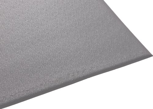 Vinyl Runner Matting - Guardian Soft Step Anti-Fatigue Floor Mat, Vinyl, 2'x3', Grey
