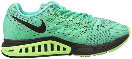 NikeAir Zoom Structure 18 - Zapatillas de deporte  mujer Turquesa - Turquoise (Menta/ Black/Voltage Green/Ghost Green)