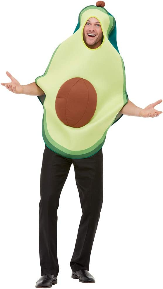 Amakando Divertido Disfraz de Fruta Avocado / Verde / Disfraz de ...