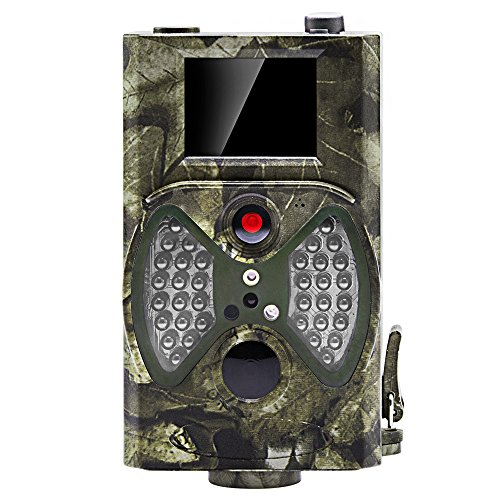 Distianert Trail Game Camera Wildlife Hunting Camera with Infrared Night Vision, 36pcs 940nm IR LEDs, 2.0-inch LCD Screen, IP65 Waterproof by Distianert