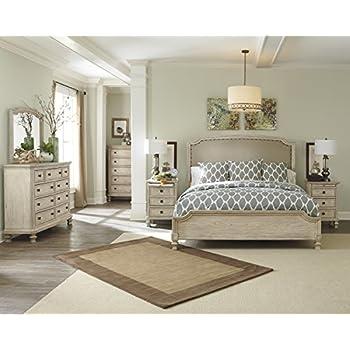 Amazon Com Ashley B693 Demarlos 4 Pc Queen Bedroom Set