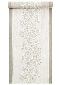 lapuan kankurit misteli Camino 35x 120cm, Tela, weiß,leinen, Breite: 35,00 cm Länge: 120,00 cm