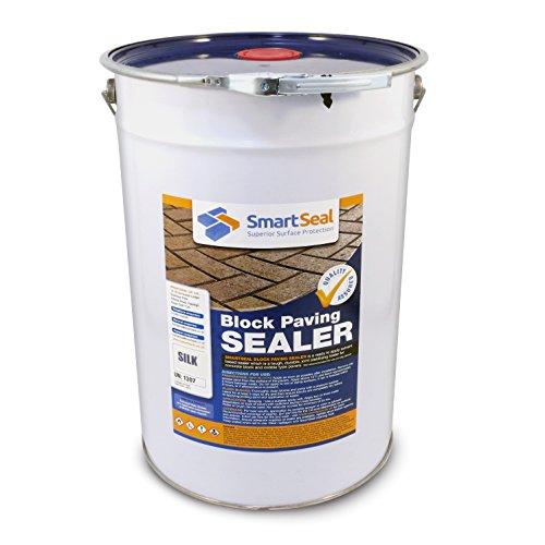Smartseal Block Paving Sealer 25L - SILK finish - High Quality, Durable...