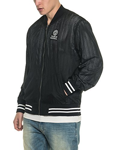 Jacket 100 Marshall Black Men's Franklin amp; Polyester Bomber Black Men's 4qUYU0w