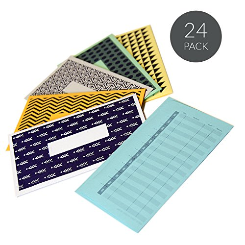 Save System (Save Me: Cash Envelope Budget System by JumpOff Jo - Budget Envelopes for Saving Money & Budgeting Smarter - 24-Pack - Pattern version)