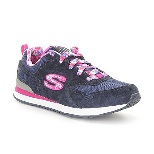 Skechers Retrospectfloral Fancies - 84201LBLMT - Color Pink-Blue - Size: 5.0 by Skechers