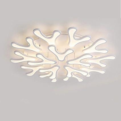 HXMSXROMID Luces de Techo Creativo Forma de Cuerno 160W LED ...