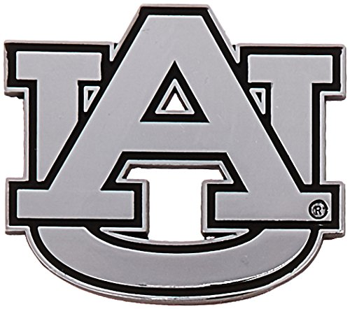NCAA Auburn Tigers Premium Metal Auto Emblem (Auto Tigers Car)