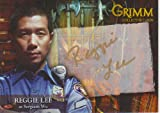 Grimm Autograph Card RLAC-1 Signed by in Gold Pen by Reggie Lee as Sergeant Wu