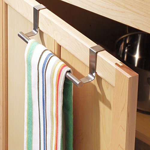 Mdesign Over The Cabinet Kitchen Dish Towel Bar Holder