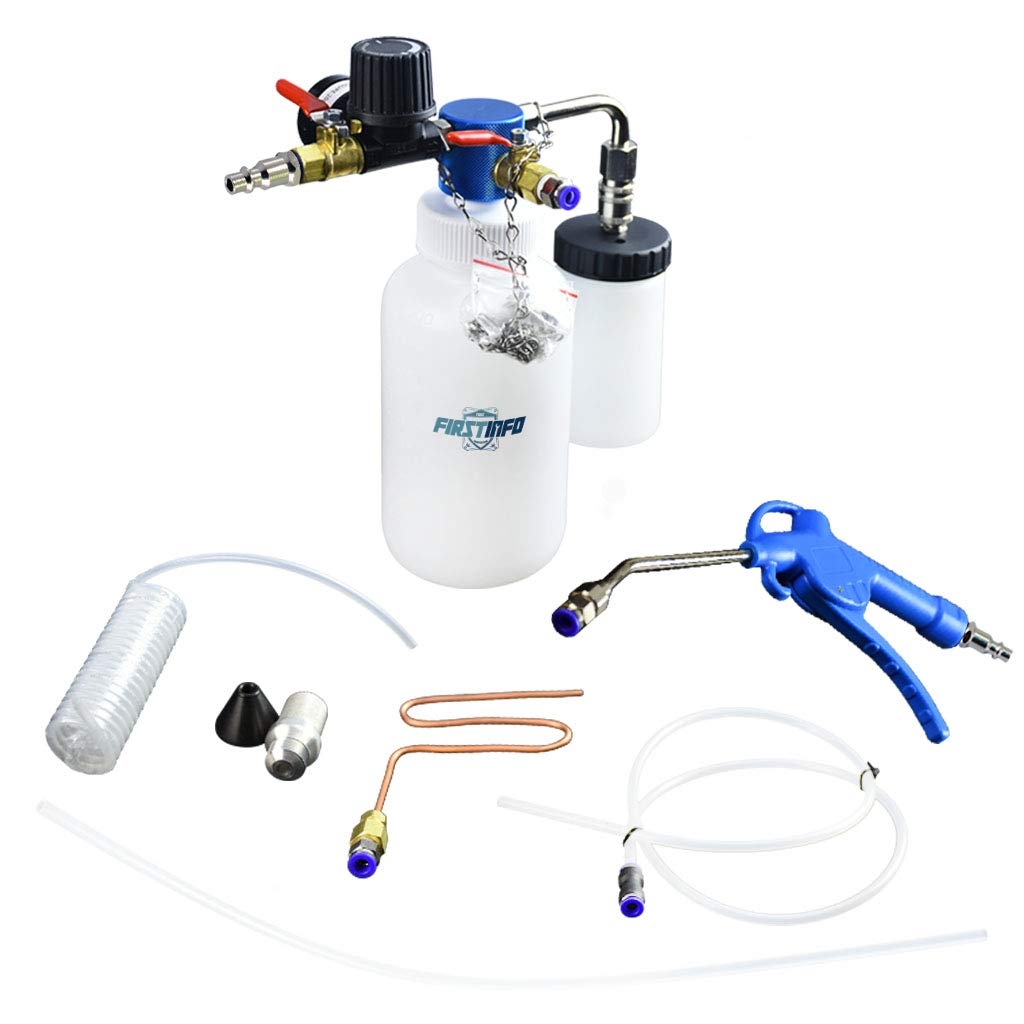 FIRSTINFO 3 in 1 Air/Pneumatic Engine Intake System Carbon Washing Kit Engine Combustor System