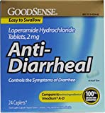 Good Sense Loperamide Hydrochloride 2Mg Anti-Diarrheal Caps Case Pack 24