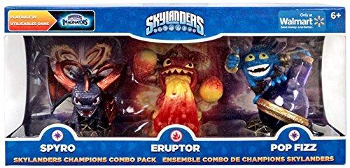 Skylanders Imaginators, Exclusive Champions Combo Pack (Spyro, Eruptor and Pop Fizz)