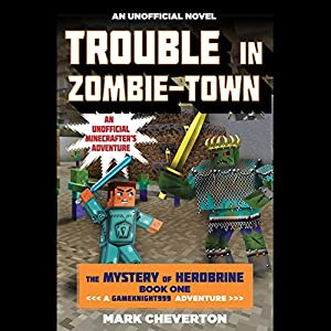 Trouble in Zombie-Town Audiobook