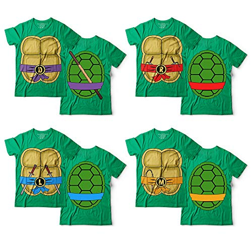 Ninja Turtles Costume Halloween Cosplay Matching Set Group