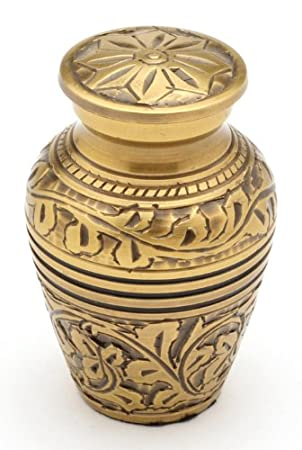 Urns UK Brampton Urne funéraire pour animal de compagnie Blanc 7, 6 cm URNA4 UU400004A
