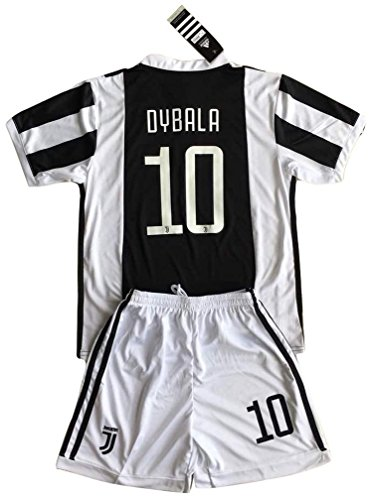 2017-2018 Youths Home Soccer Jersey & Socks Set (9-10 Years Old) (Juventus Home Jersey)