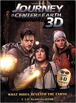 Book What Hides Beneath the Earth: A 3-D Activity Book (Journey to the Center of the Earth 3D)