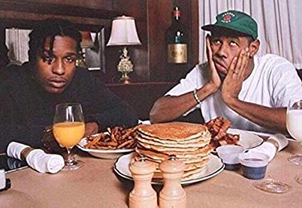 A$AP Rocky /& Tyler The Creator Album Poster Art Fabric Hot Decor X-339