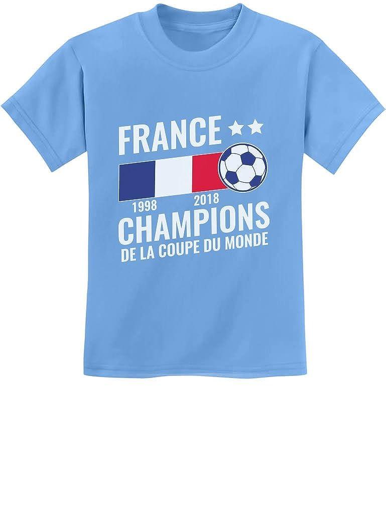 France National Soccer Team Fans 2018 Champions Youth Kids T-Shirt Tstars