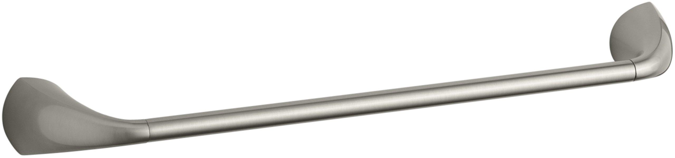 Kohler K-37050-BN Alteo 18'' Towel Bar, Vibrant Brushed Nickel