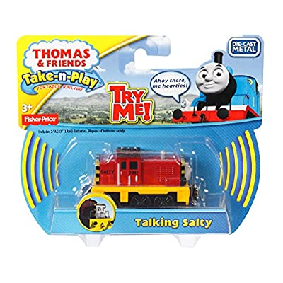 Fisher-Price Thomas & Friends Take-n-Play, Talking Salty Train: Toys & Games