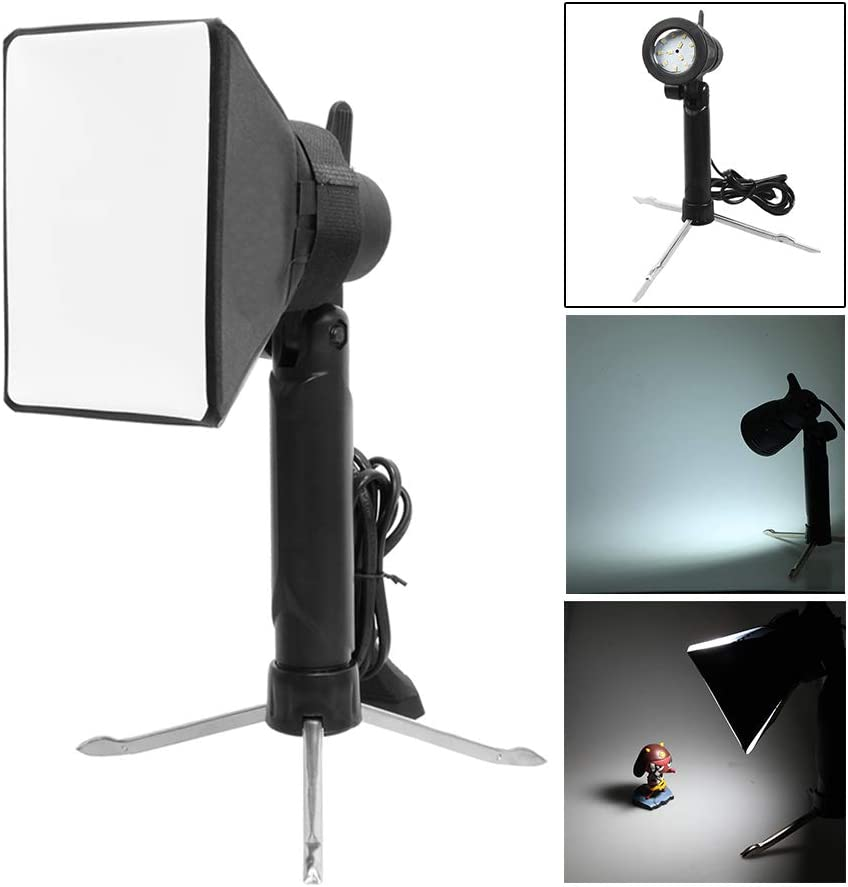 Selens Photography Table Top Lighting kit Portable Softbox Led Lamp Studio Continuous Light for Video and Product