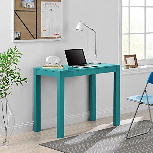 Altra Delilah Parsons Desk With Drawer, Teal
