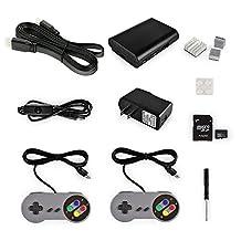 SainSmart Game Console Station Kit for RetroPie Raspberry Pi 3 32GB SD Card +Power Supply +Case