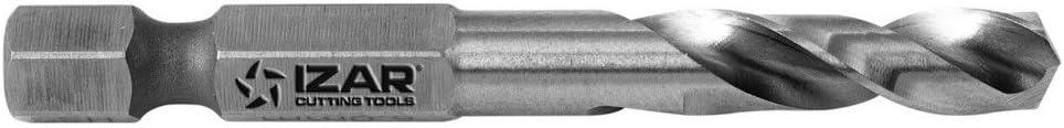 Izar 15892/HSS f/ür Metall HSS Sechskant 1//4/DIN E6.3/Metall 3,50/mm