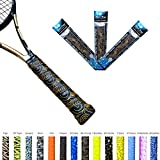 Alien Pros X-Tac Tennis Overgrip Tape perfect for your tennis racket, racquetball grip, squash racquet and more. 3-Pack
