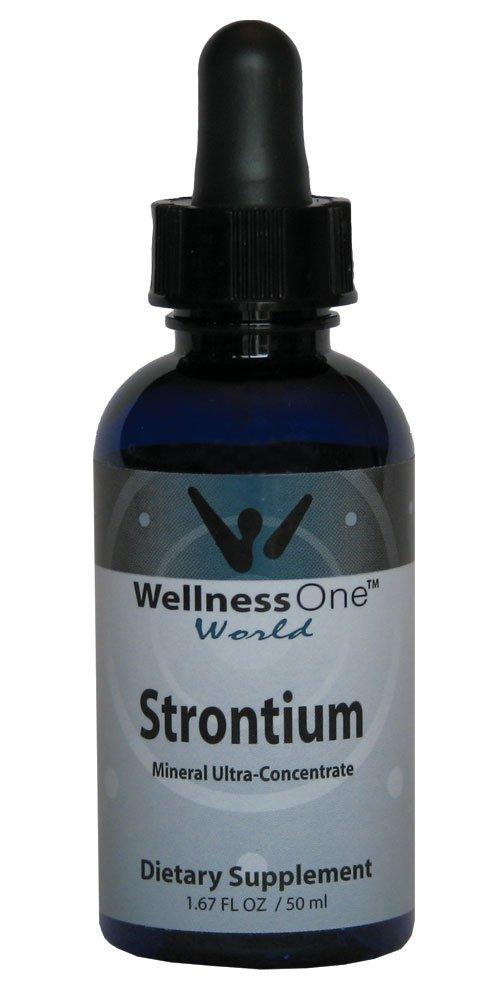 Strontium - Premium Liquid Ionic Mineral (100 days at 30 mg Per 10 Drop Serving) 50 ml bottle