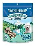 Natural Balance Belly Bites Grain Free Dog Treats - Chicken & Legume Formula - 6-Ounce