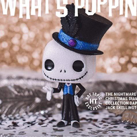 Funko Pop Disney: Nightmare Before Christmas - Diamond Collection Dapper Jack Skellington (Exclusive)