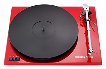 Thorens TD 203 - Tocadiscos (DC, Negro, Rojo, MDF, 400 x 320 ...