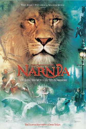NARNIA POSTER The Lion Witch & Wardrobe RARE NEW 24X36