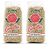 Camellia Lady Cream Peas, 1 Pound Bag (Pack of 2, Two Pounds Total)