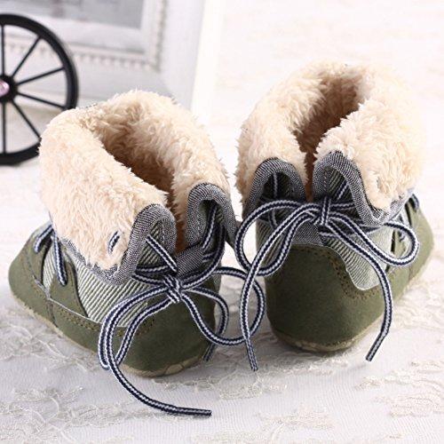 leap frog Mid Culf Snow Boots - Patucos para niño Verde