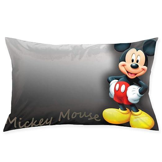 CHLING Fundas de Almohada de Mickey Mouse, Funda de cojín ...