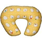 Montu Bunty Nursing Feeding Pillow with Cotton Slipcover (5 in 1) - A Boppy Alternative (Pillow 7)