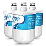 AQUACREST AQF-LT500P Water Filter, 3 PACK, White