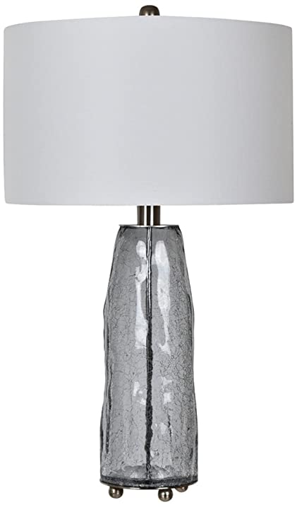 Crestview collection lucca gray crackle glass table lamp amazon crestview collection lucca gray crackle glass table lamp aloadofball Images