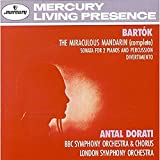 The Miraculous Mandarin; Sonata For Two Pianos and Percussion; Diverti