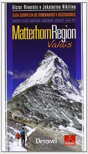 Ebook descarga gratuita pdf thai Matterhorn region - valais (Guias De Excursionismo) PDF FB2 iBook