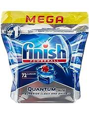 أقراص تنظيف فينش كوانتوم ماكس لغسالة الصحون - 72 قرص، (حزمة من 4 عبوات)